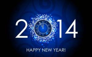 Blue-Clock-Happy-New-Year-Wallpapers-2014